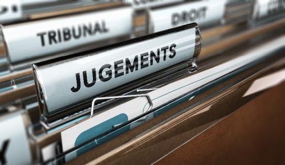 tribunal / jugements